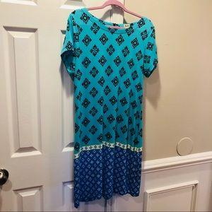 Perfect Hatley print dress size Large soft & cool